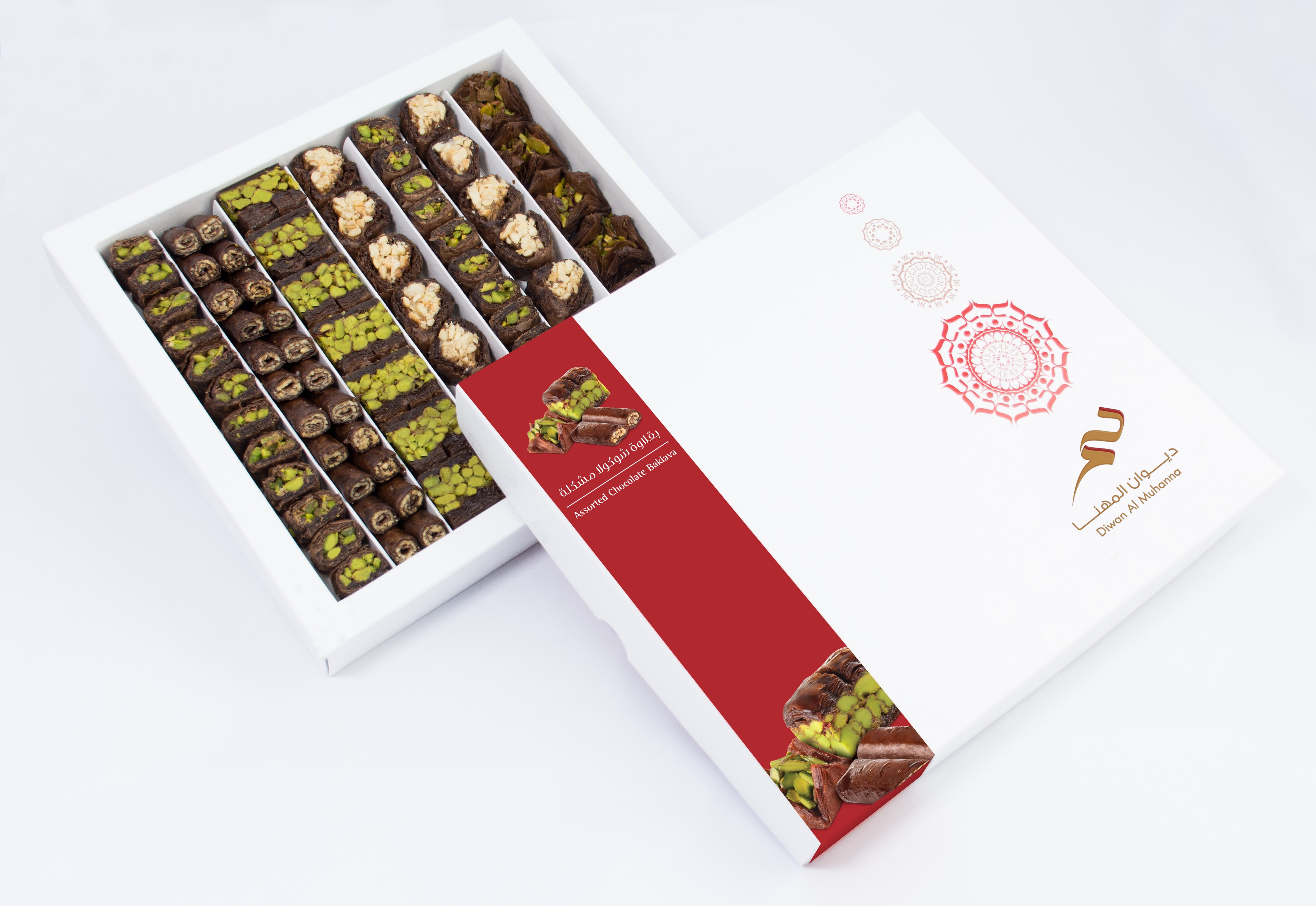 DM CHOCOLATE BAKLAVA 750G