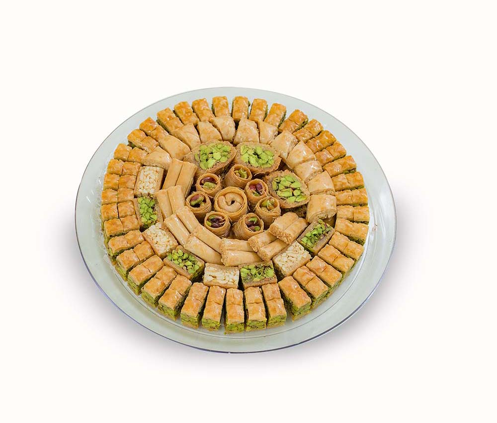 DM Assorted Baklava Tray 1000g